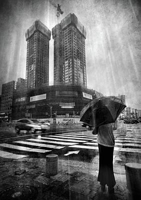 East Asian Monsoon Poster by Ioannis Lelakis