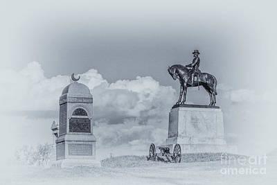East Cemetery Hill Gettysburg Battlefield Poster by Randy Steele