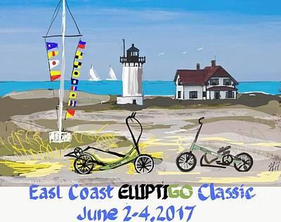 East Coast Elliptigo Classic  Opus 3 Poster