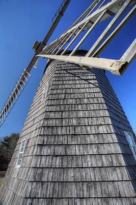 East Hampton Windmill Poster