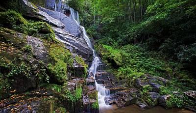 Eastatoe Falls - Waterfalls In North Carolina Photos Poster