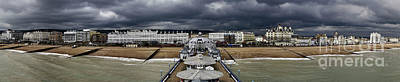 Eastbourne Panorama Poster by Heiko Koehrer-Wagner