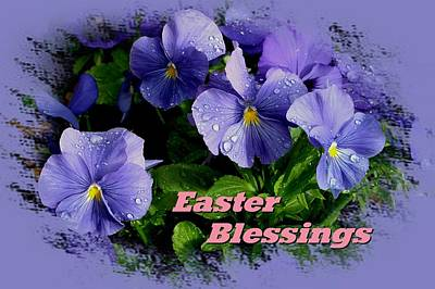 Easter Blessings Poster