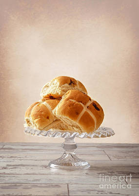 Easter Buns Poster by Amanda Elwell