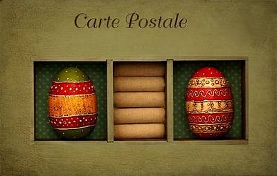 Easter Card Poster by Heike Hultsch