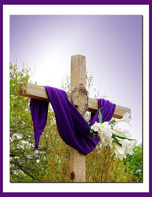 Easter Cross Poster