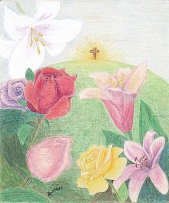 Easter Morning Poster
