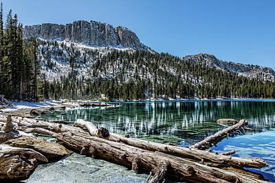 Eastern Sierra Mcleod Lake Poster