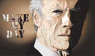 Eastwood Poster by Mike  Haslam