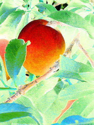 Eat A Peach Poster by Louis Nugent