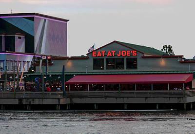 Eat At Joes Poster