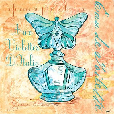 Eau De Toilette Poster by Debbie DeWitt