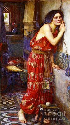 Eavesdropping 1909 Poster
