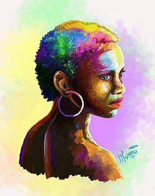 Ebony Poster