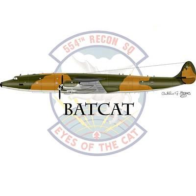 Ec-121r Batcat Poster by Arthur Eggers