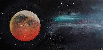 Eclipse De Lune Poster
