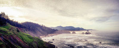 Ecola State Park Poster by Chad Tracy