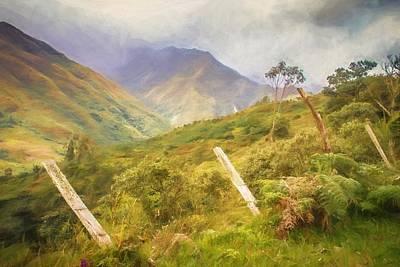 Ecuadorian Mountain Forest Poster