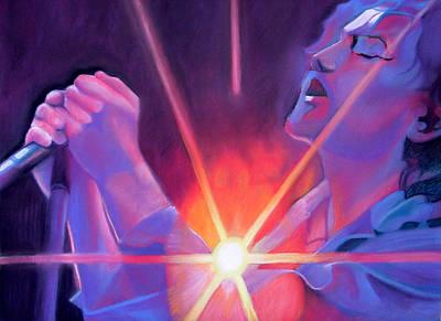 Eddie Vedder And Lights Poster
