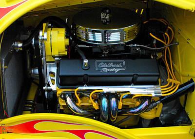 Edelbrook Racing Engine Poster