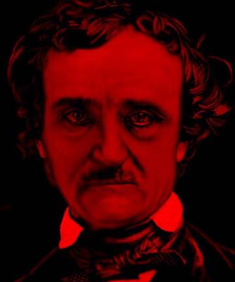 Edgar Allan Poe Poster by Brian Broadway