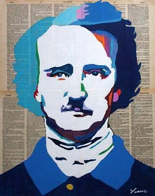 Edgar Allan Poe Poster by Venus