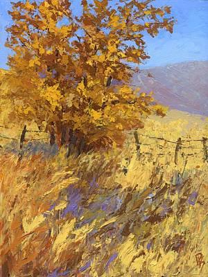 Edge Of Autumn Poster