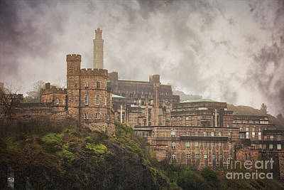 Edinburgh Calton Hill Buildings Poster by Sophie McAulay