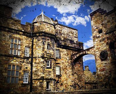 Edinburgh Castle Poster by Judi Saunders