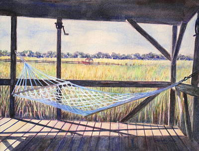 Edisto Afternoon Poster