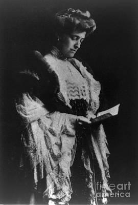 Edith Wharton, American Author Poster