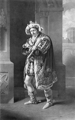 Edmund Kean 1787 To 1833 English Actor Poster by Vintage Design Pics