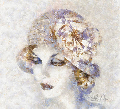 Edwardian Elegance Poster by Shirley Stalter