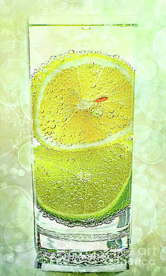 Effervescent Freshness By Kaye Menner Poster by Kaye Menner