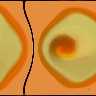 Egg On Broken Plate Poster by Ben and Raisa Gertsberg