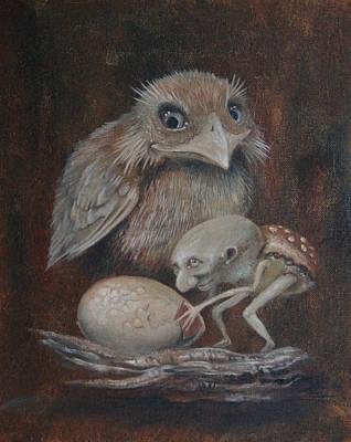 Egg Polisher Poster by Ed Schaap