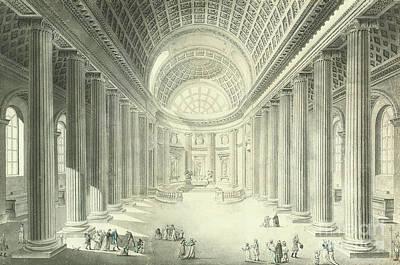Eglise De St Philippe Du Roule, Paris Poster