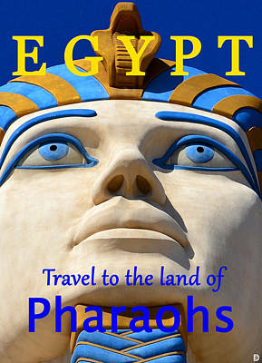 Egypt Travel Poster  Poster by David Lee Thompson