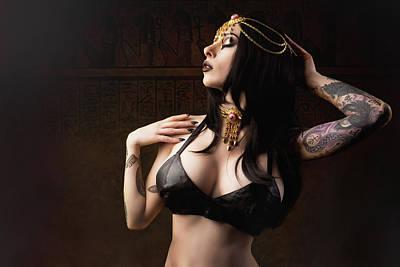 Egyptian Goddess Poster by MC Illusion