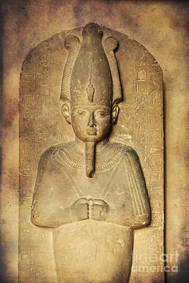 Egyptian Pharaoh. Poster by Mohamed Elkhamisy