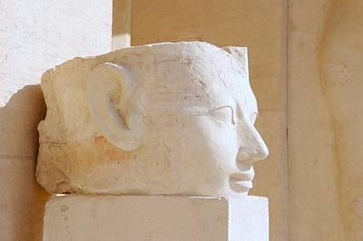 Egyptian Queen Hatchepsut Head Poster by Sherry Pratt