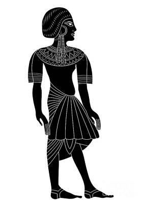 Egyptian Woman Poster by Michal Boubin