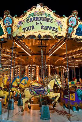 Eiffel Carrousel Poster