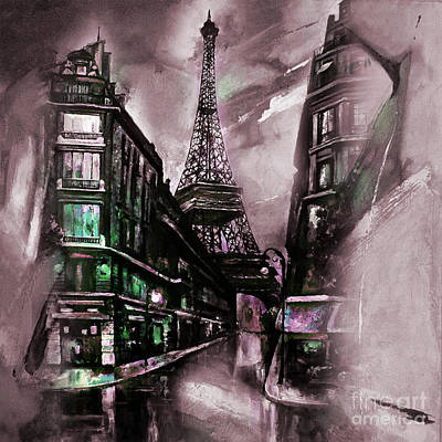 Eiffel Tower 02  Poster by Gull G
