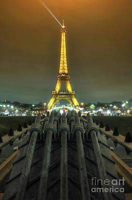 Eiffel Tower 3.0 Poster by Yhun Suarez