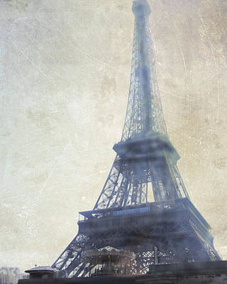 Eiffel Tower Poster by Catherine Alfidi
