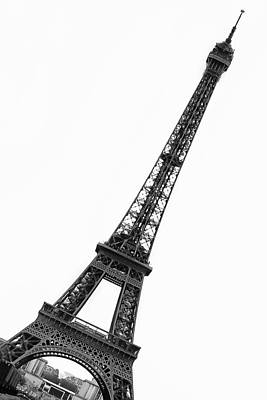 Eiffel Tower Poster by Marion McCristall