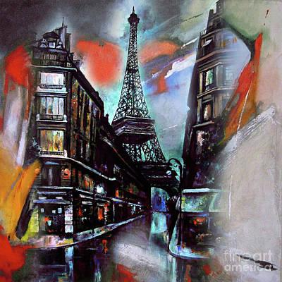 Eiffel Tower Paris Poster by Gull G