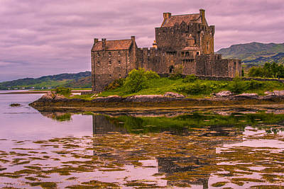 Poster featuring the photograph Eilean Donan Castle I by Steven Ainsworth