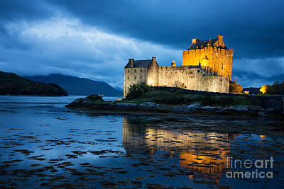 Eilean Donan Castle Poster by Jane Rix